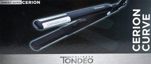Lisseur cheveux Tondeo Cerion Curve Straightener 3721