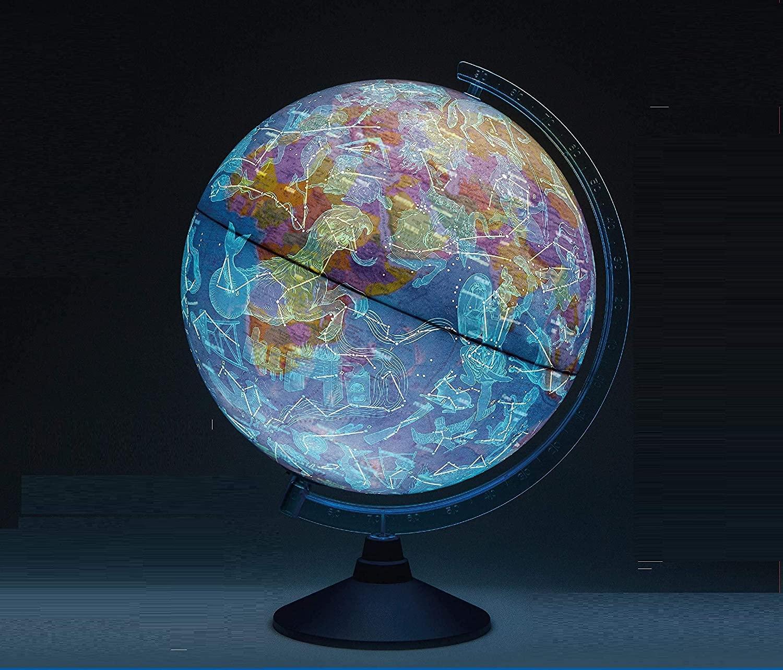 globe terrestre lumineux Exerz