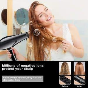 sèche-cheveux ionique PluieSoleil